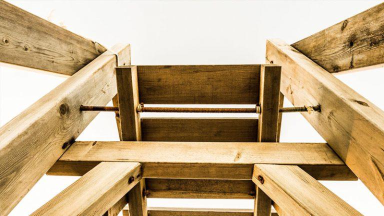 Stemple budowlane, deski szalunkowe